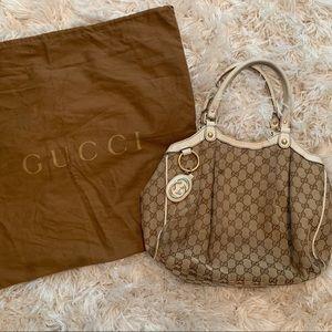 Authentic Gucci sukey bag (medium)